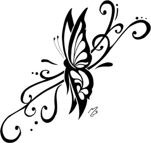 tribal-butterfly-tattoos-designs
